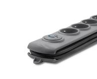 Qoltec Quick Switch - 4 gniazda, 2,5m - 462004 - zdjęcie 3