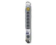 Qoltec Quick Switch - 8 gniazd, 3m - 462013 - zdjęcie 4