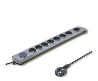 Qoltec Quick Switch - 8 gniazd, 3m - 462013 - zdjęcie 1