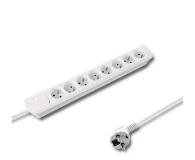 Qoltec Quick Switch - 8 gniazd, 1,4m - 472612 - zdjęcie 1