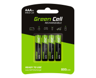 Green Cell 4x AAA HR03 800mAh