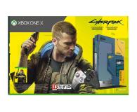 Microsoft Xbox One X 1TB - Cyberpunk 2077 Limited Edition  - 571407 - zdjęcie 12