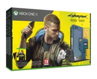 Microsoft Xbox One X 1TB - Cyberpunk 2077 Limited Edition  - 571407 - zdjęcie 1