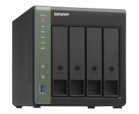 QNAP TS-431KX (4xHDD, 4x1.7GHz, 2GB, 3xUSB, 2xLAN,SFP+) - 570902 - zdjęcie 1