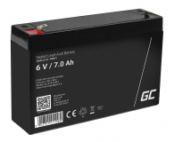 Green Cell Akumulator AGM  6V 7Ah - 547925 - zdjęcie 1