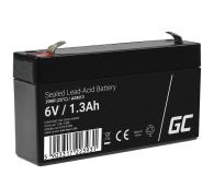 Green Cell Akumulator AGM VRLA  6V 1.3Ah - 547926 - zdjęcie 1