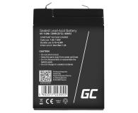 Green Cell Akumulator AGM VRLA  6V 4Ah - 547928 - zdjęcie 2