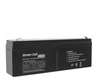 Green Cell Akumulator AGM VRLA  12V 2.3Ah - 547933 - zdjęcie 1