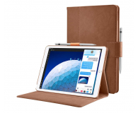 Spigen Stand Folio do iPad Air 3 generacji brązowy - 576347 - zdjęcie 1
