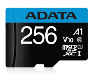 ADATA 256GB microSDHC Premier 100MB/s A1 V10 C10 UHS-I - 579900 - zdjęcie 1
