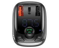 Baseus Transmiter FM (Bluetooth 5.0, Quick Charge 4.0) - 580222 - zdjęcie 4