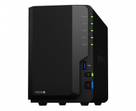 Synology DS220+ 2TB (2xHDD, 2x2-2.9GHz, 2GB, 2xUSB, 2xLAN) - 604496 - zdjęcie 2