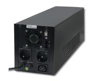 Qoltec Monolith (1500VA/900W, 2xFR, USB, AVR, LCD) - 387648 - zdjęcie 2