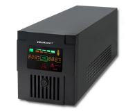 Qoltec Monolith (1500VA/900W, 2xFR, USB, AVR, LCD) - 387648 - zdjęcie 1