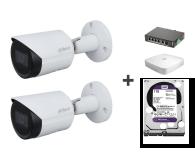 Dahua Zestaw do monitoringu (2x 2MP, NVR, 1TB, switch) - 581438 - zdjęcie 1