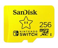 SanDisk 256GB microSDXC 100MB/s A1 V30 Nintendo Switch - 581874 - zdjęcie 1