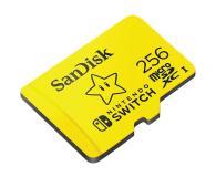 SanDisk 256GB microSDXC 100MB/s A1 V30 Nintendo Switch - 581874 - zdjęcie 2