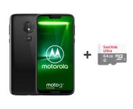 Motorola Moto G7 Power 4/64GB Dual SIM czarny + etui + 64GB - 483114 - zdjęcie 1