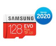 Samsung 128GB microSDXC Evo Plus zapis60MB/s odczyt100MB/s - 577325 - zdjęcie 1