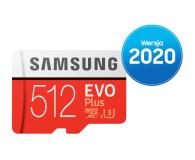 Samsung 512GB microSDXC Evo Plus zapis90MB/s odczyt100MB/s - 577329 - zdjęcie 1