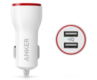 Anker Ładowarka samochodowa PowerDrive II (biały) - 583675 - zdjęcie 1