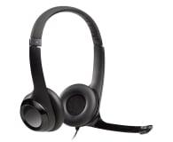 Logitech H390 Headset czarne z mikrofonem - 71783 - zdjęcie 1