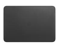 """Apple Skórzany futerał na MacBook Pro 16"""" czarny - 585284 - zdjęcie 1"""