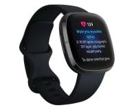 Fitbit Sense czarny + Fitbit Premium - 587725 - zdjęcie 4