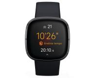 Fitbit Sense czarny + Fitbit Premium - 587725 - zdjęcie 2