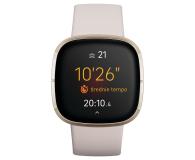 Fitbit Sense złoto beżowy + Fitbit Premium - 587726 - zdjęcie 2