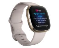 Fitbit Sense złoto beżowy + Fitbit Premium - 587726 - zdjęcie 5