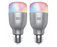 Xiaomi Mi Smart LED Bulb RGB 2 sztuki (E27/800lm) - 587739 - zdjęcie 1