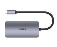 Unitek USB-C - 2x HDMI, VGA, USB 3.1, PD (MST - 3 ekrany) - 587853 - zdjęcie 3