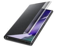 Samsung Clear view cover do Galaxy Note 20 ultra Black  - 582467 - zdjęcie 4