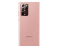 Samsung Clear view cover Galaxy Note 20 ultra Copper Brown - 582468 - zdjęcie 2