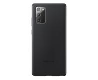 Samsung Leather Cover do Galaxy Note 20 Black  - 582459 - zdjęcie 1