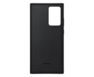 Samsung Leather Cover do Galaxy Note 20 ultra Black  - 582474 - zdjęcie 4