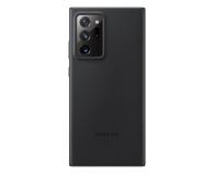 Samsung Leather Cover do Galaxy Note 20 ultra Black  - 582474 - zdjęcie 1