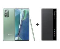 Samsung Galaxy Note 20 8/256 Zielony + Clear View Cover - 582841 - zdjęcie 1