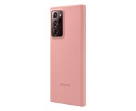 Samsung Silicone Cover Galaxy Note 20 ultra Copper Brown  - 582472 - zdjęcie 2