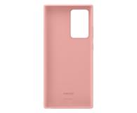 Samsung Silicone Cover Galaxy Note 20 ultra Copper Brown  - 582472 - zdjęcie 4
