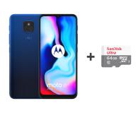 Motorola Moto E7 Plus 4/64GB Misty Blue + 64GB - 590429 - zdjęcie 1