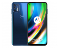 Motorola Moto G9 Plus 4/128GB Navy Blue - 589638 - zdjęcie 1