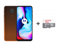 Motorola Moto E7 Plus 4/64GB Twilight Orange + 64GB - 591862 - zdjęcie 1