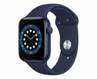 Apple Watch 6 44/Blue Aluminium/Deep Navy Sport GPS - 592191 - zdjęcie 1