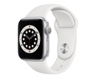 Apple Watch 6 40/Silver Aluminium/White Sport GPS - 592195 - zdjęcie 1