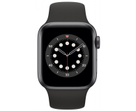 Apple Watch 6 40/Space Gray Aluminium/Black Sport GPS - 592189 - zdjęcie 2
