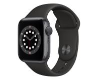 Apple Watch 6 40/Space Gray Aluminium/Black Sport GPS - 592189 - zdjęcie 1