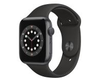 Apple Watch 6 44/Space Gray Aluminium/Black Sport GPS - 592186 - zdjęcie 1