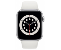 Apple Watch 6 44/Silver Aluminium/White Sport LTE - 592208 - zdjęcie 2